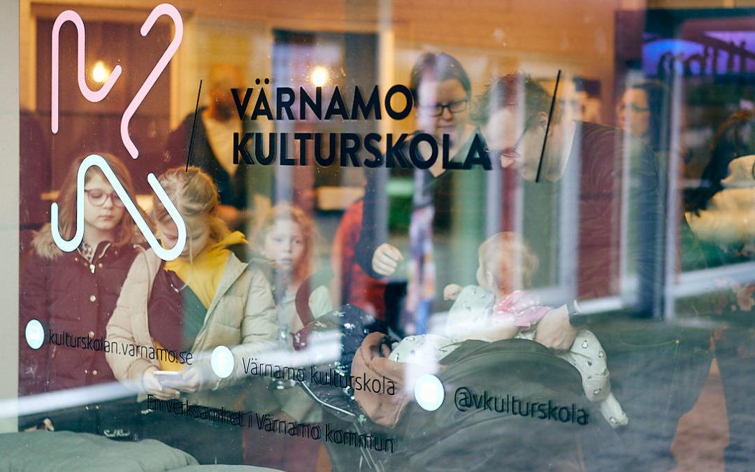 Open house at Kulturskolan inVärnamo