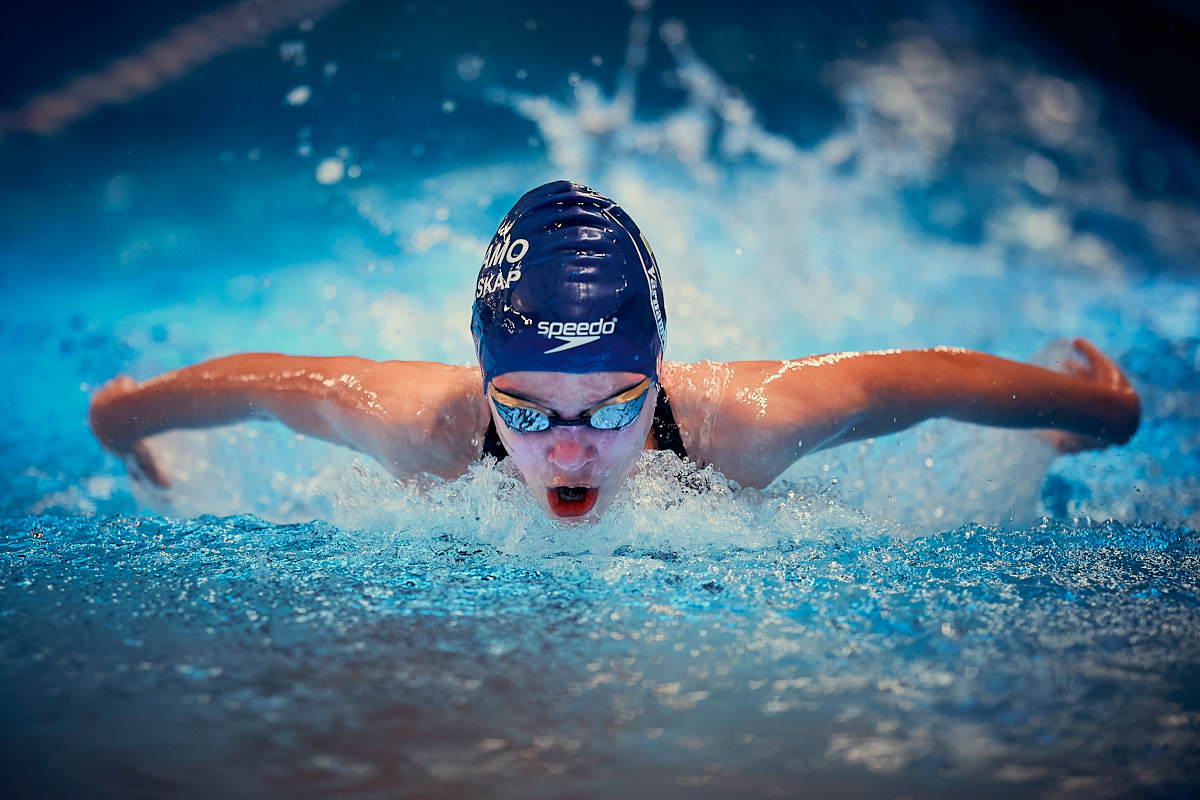 Swimming contest in Värnamo - Mara Nichitelea winner